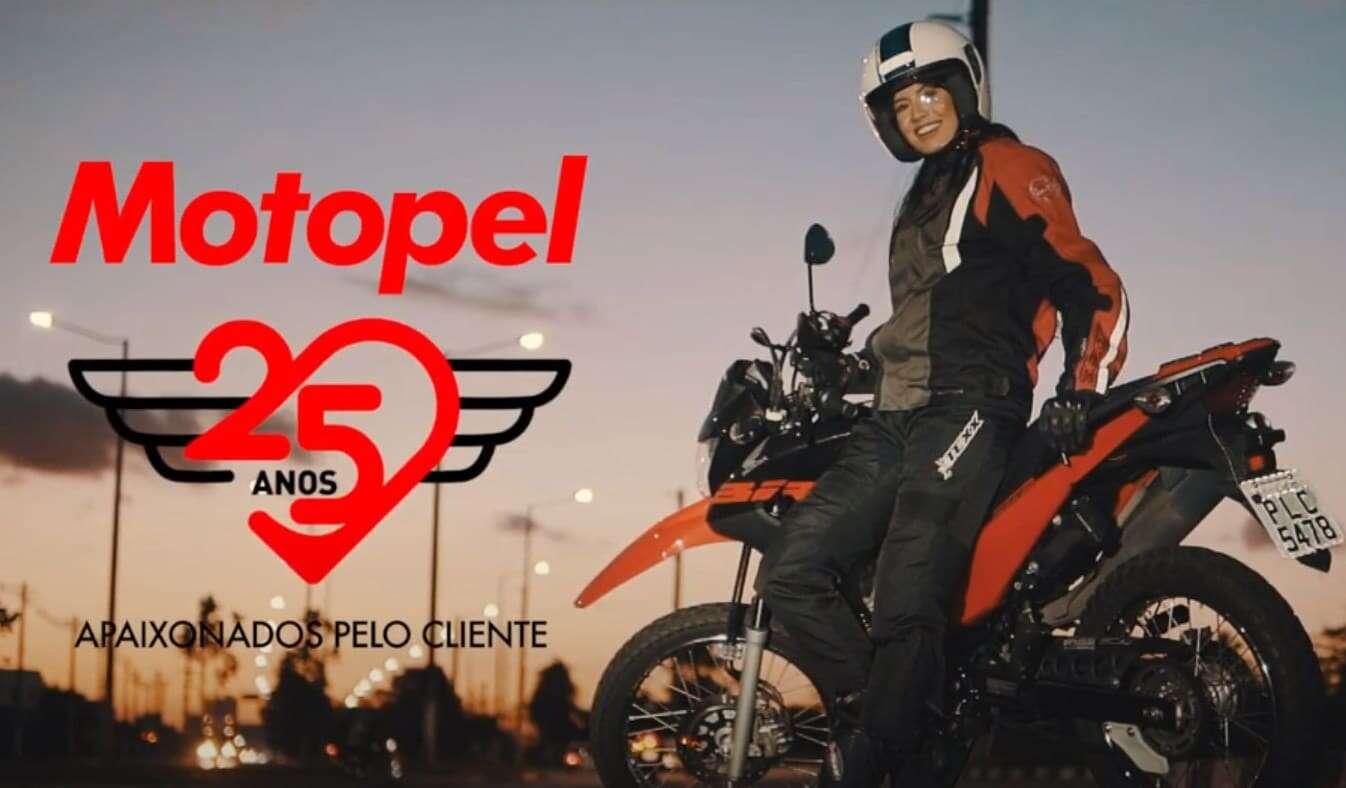 Motopel 25 anos vendendo motos honda na Bahia