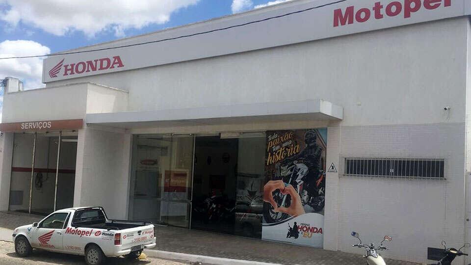 Loja Concessionária Motopel Honda inhambupe