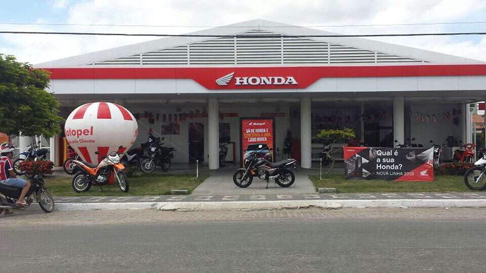 Loja Concessionária Motopel Honda - Ipirá