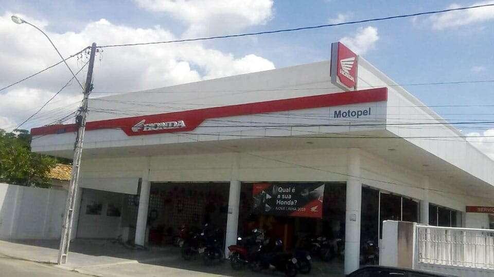 Loja Concessionária Motopel Honda - Santo Estêvão